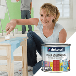 Farby do ścian i sufitów. Kolory, które inspirują Dekoral.pl